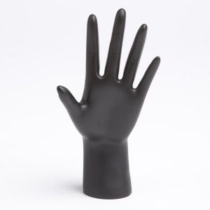 2 Pairs Female Mannequin Hand for Jewelry Bracelet Glove Ring Display Stand