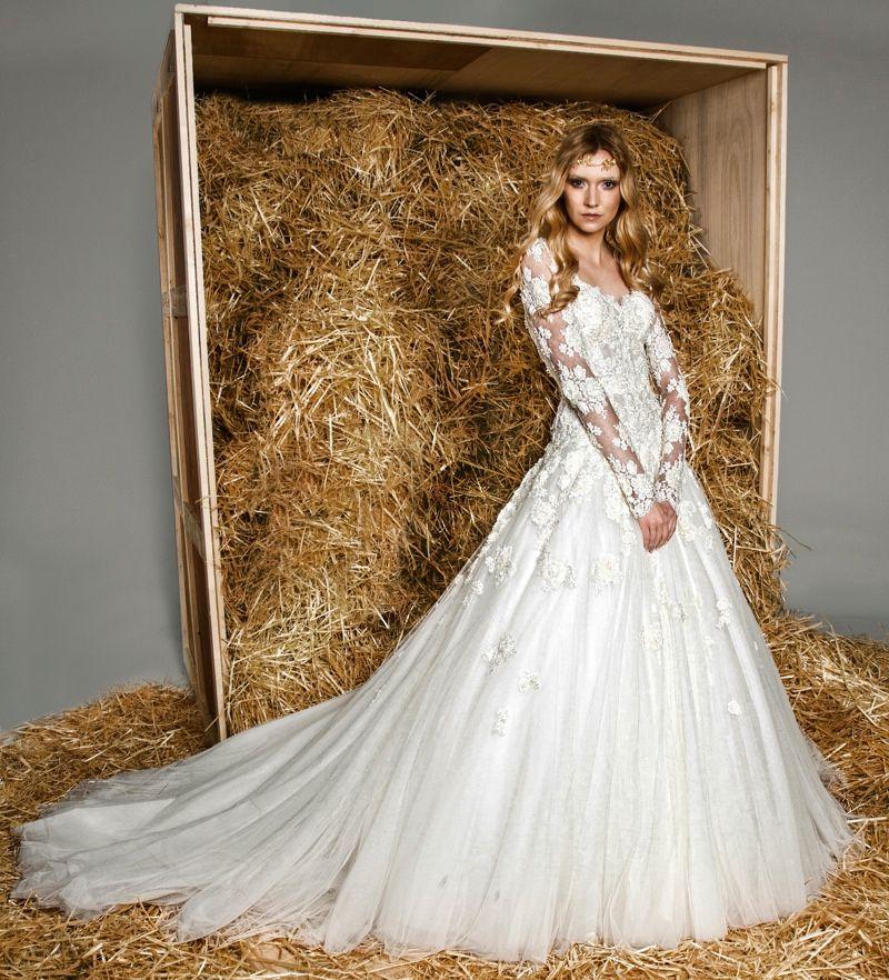 854dca637 Vestidos de alta-costura para inspirar a escolha do seu   noiva ...