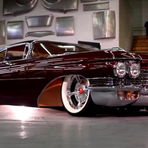 "Hot American Cars — CHOP TOP 1960 CADILLAC CUSTOM ""COPPER CADDY"""