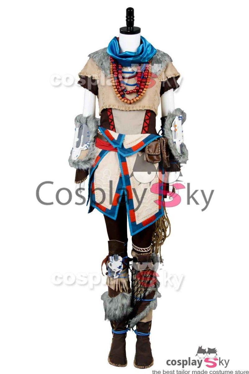 Horizon:Zero Dawn Aloy Hunt Cosplay Costume #cosplay #cosplaysky_fr
