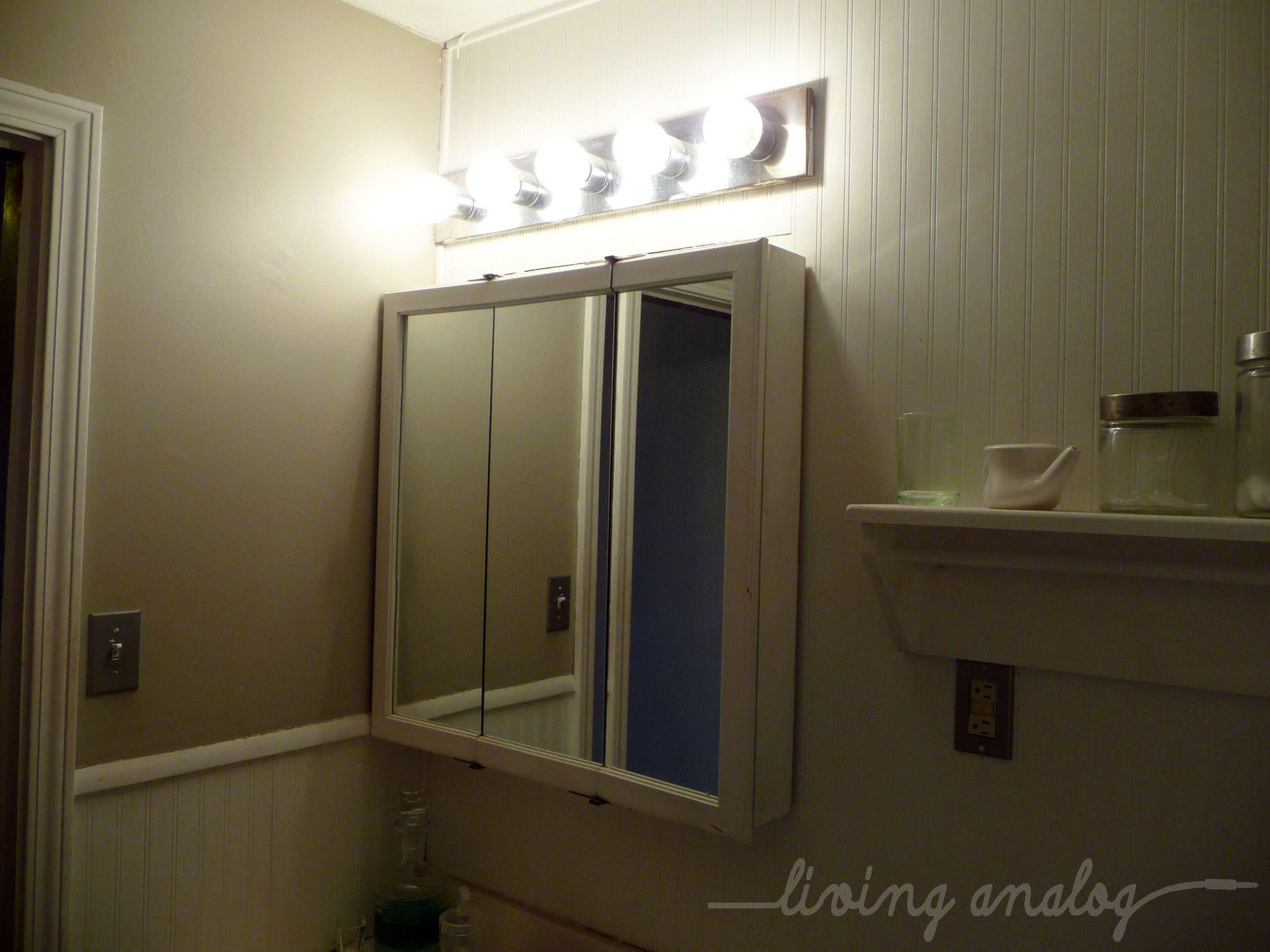 Bathroom Lights Over Medicine Cabinets