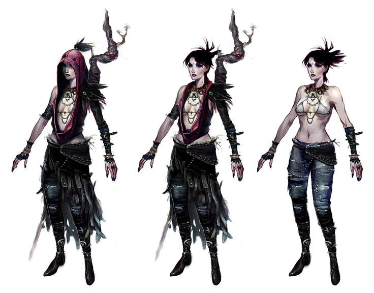 Morrigan Dragon Age Full Body