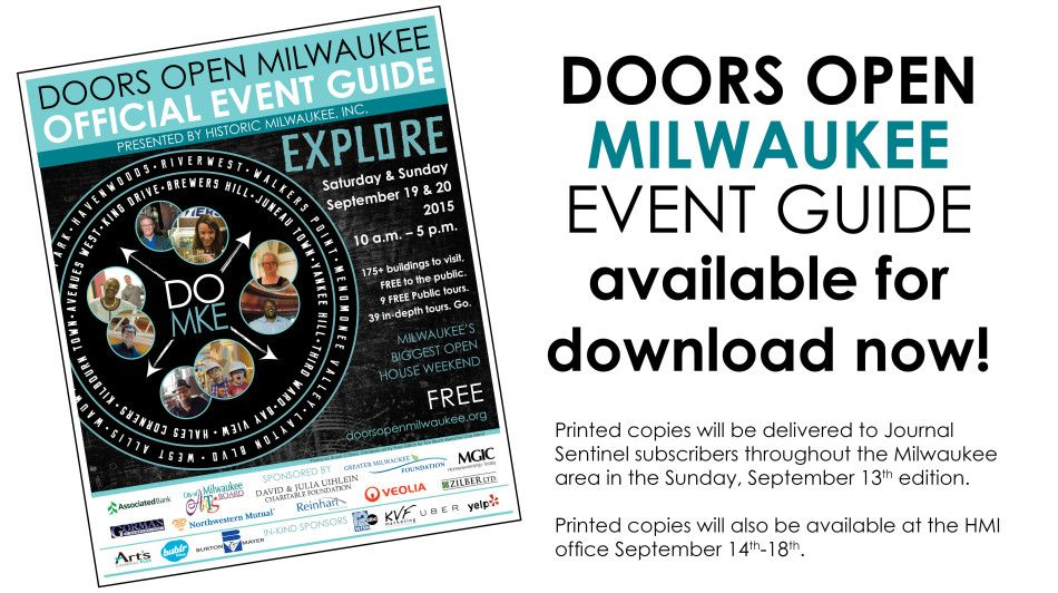Doors Open Family Fun Places Milwaukee Event Guide