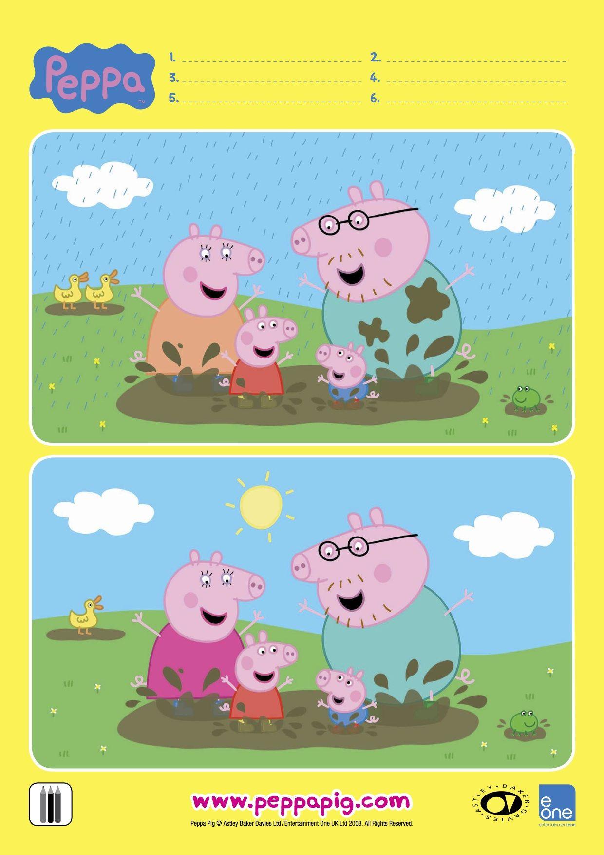Epingle Par Gris Villarroel Sur Peppa Pig