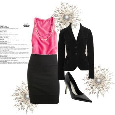 Professional Business Attire For Young Women #businessattireforyoungwomen