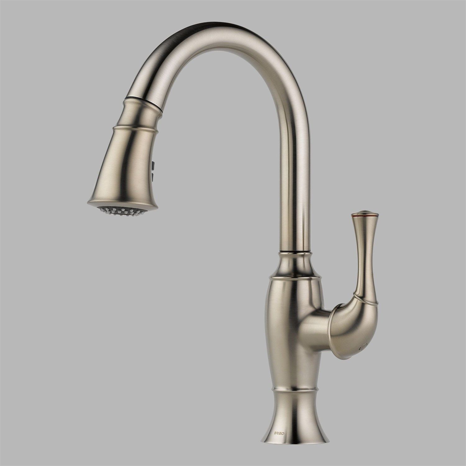 kitchen in by modern space faucets designed was articulating matte this hero faucet brizo black solna arm the