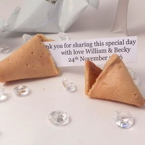 300 Personalised Wedding Fortune Cookies Favours