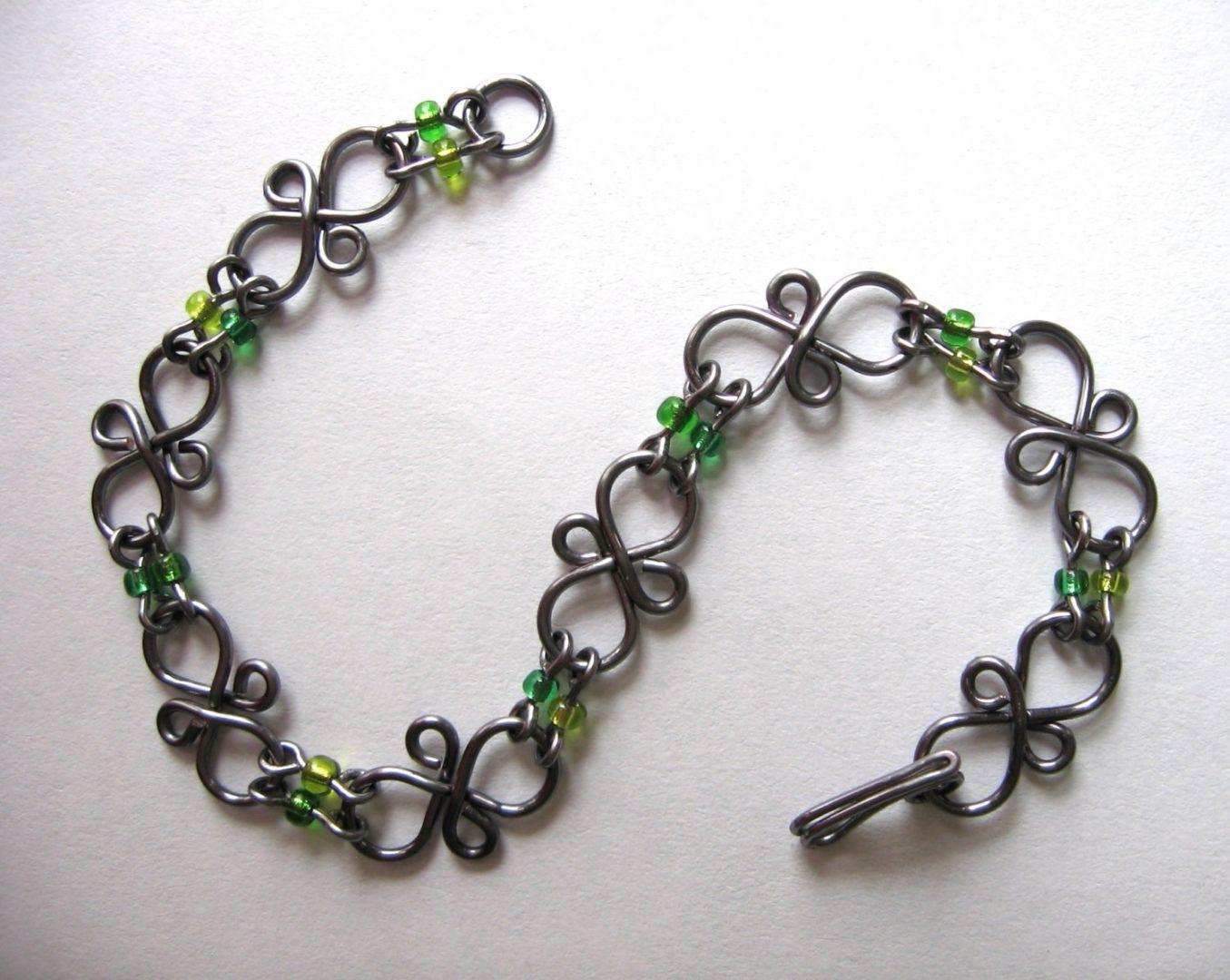 handmade decorative wire links - Google Search | Crafts - Jewelry ...