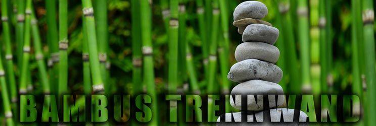 Inspirational Bambus Trennwand Nat rlicher Sichtschutz f r Garten und Balkon by http ift