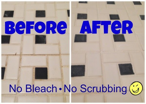 Get rid of mold in tile grout naturally  without bleach or other harsh  chemicalsGet rid of mold in tile grout naturally  without bleach or other  . Bathroom Cleaner Without Bleach. Home Design Ideas