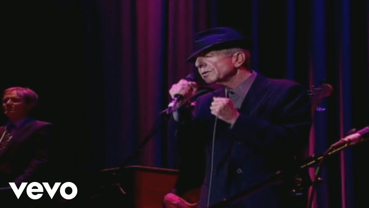 Leonard Cohen Take This Waltz Live In London Youtube Leonard Cohen Waltz Songs