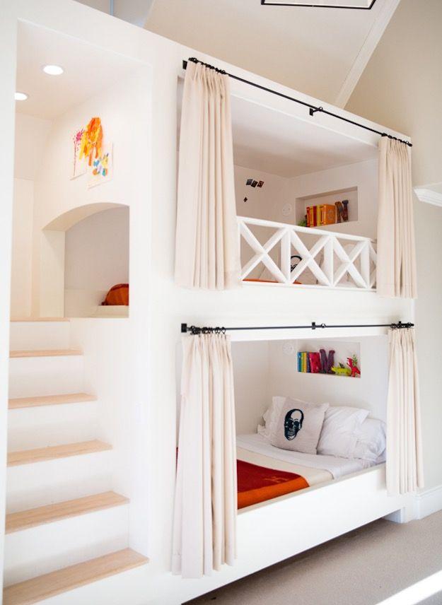 Bunk Beds 12 Amazing Kids Bedrooms Bunk Beds Built In Bunk