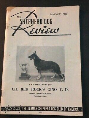 The German Shepherd Dog Review January 1968 Club Legacy