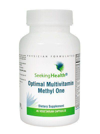 Optimal Multivitamin Methyl One 45 Vegetarian Capsules
