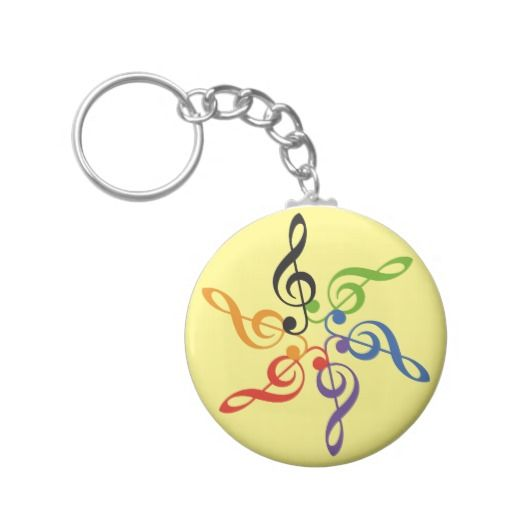 Arcoiris música clave sol. Música, music. Producto disponible en tienda Zazzle. Product available in Zazzle store. Regalos, Gifts. Link to product: http://www.zazzle.com/arcoiris_musica_clave_sol_basic_round_button_keychain-146226095077711945?CMPN=shareicon&lang=en&social=true&rf=238167879144476949 #llavero #KeyChain #música #music