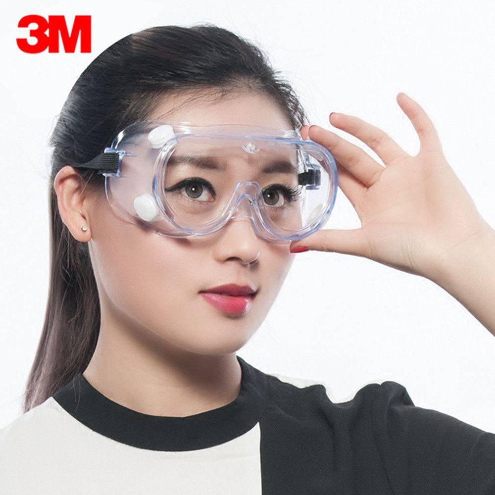 3m 1621 dust chemical goggles working safety glasses anti