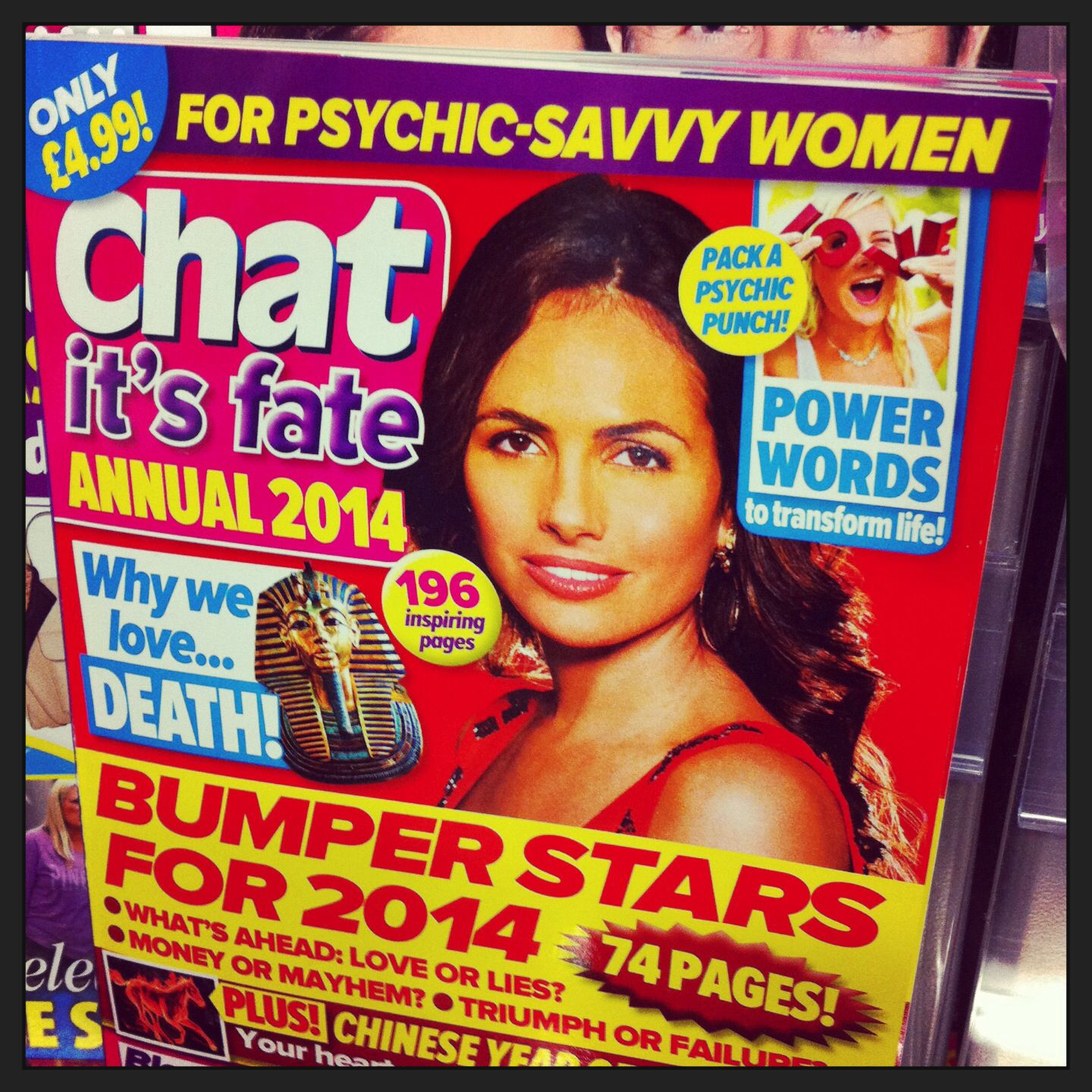 """Psychic-savvy""? Fairly sure that is an oxymoron."