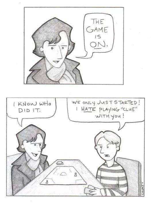 Sherlock and John fan art.
