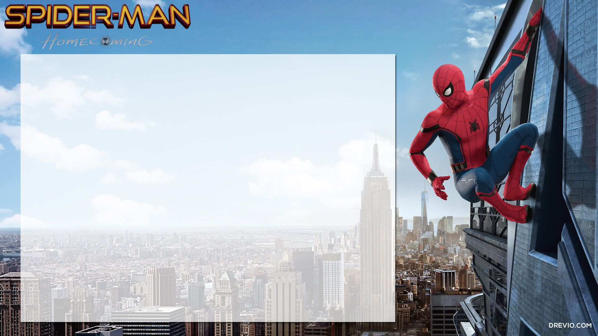 FREE Printable Spiderman Homecoming Birthday Invitation Template - Spiderman birthday invitation template