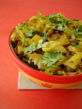 Cabbage indian recipes easy