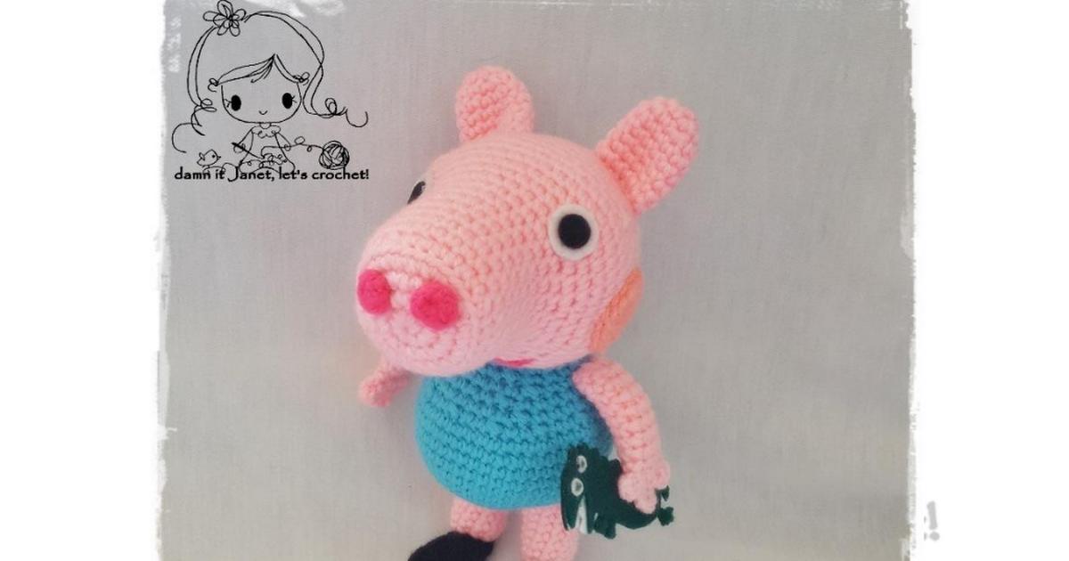 Peppa Pigs brother George.pdf | Crafty Corner | Pinterest | Patrones ...