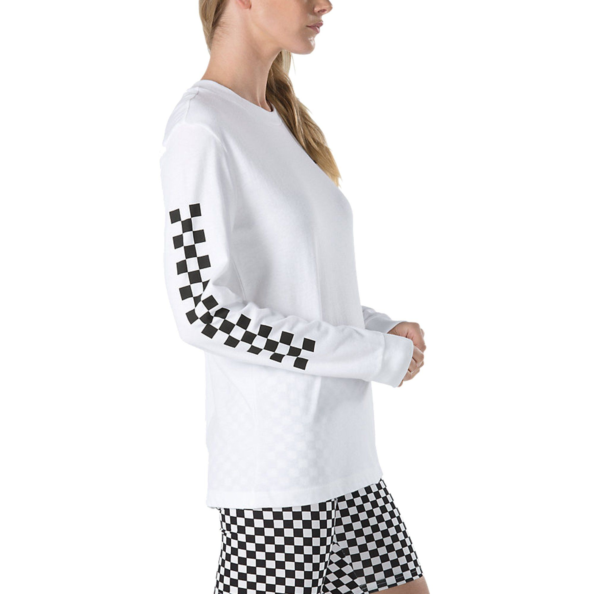 4fe3a30f1 VANS Women's Half Checked Long Sleeve in 2018 | Products | Pinterest ...