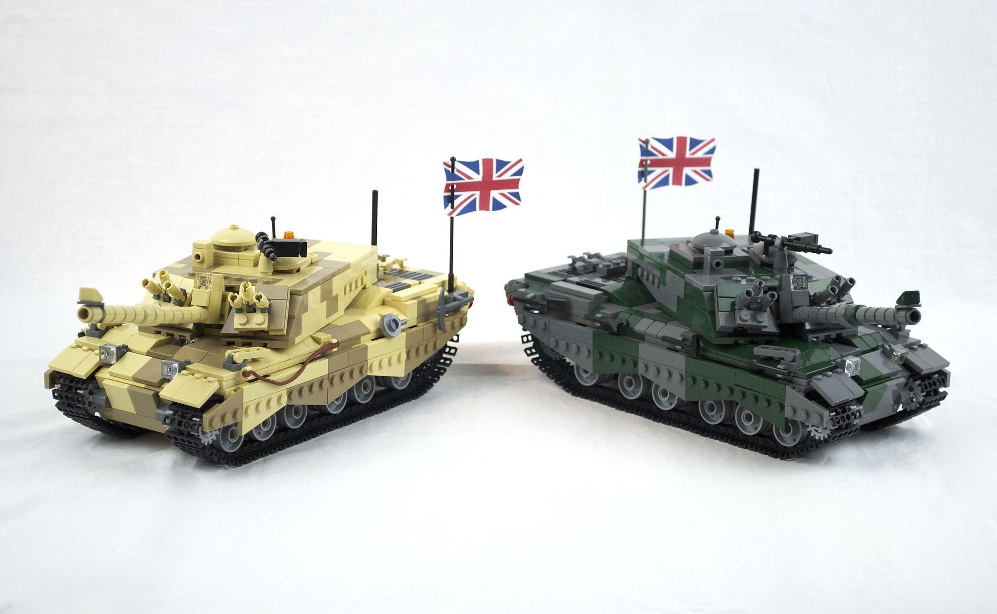 02e7b0cf228f https   flic.kr p iMMko7 Lego Challenger II British MBT