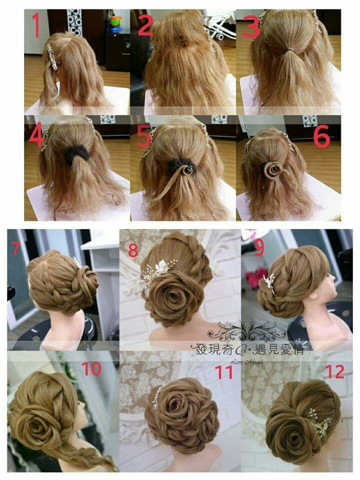 Pin by Jan Sun on Bridal Style   Pinterest   Hair style  Updos and Updo