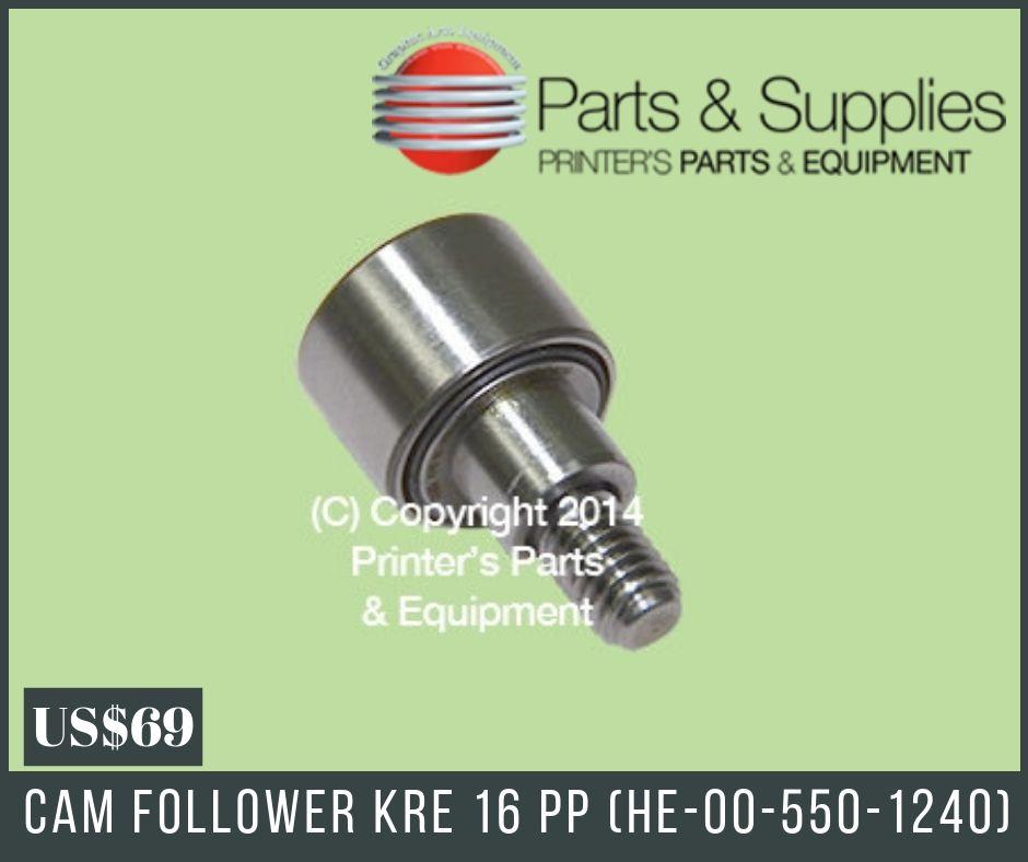 Cam Follower KRE 16 PP (HE-00-550-1240) | Cam Followers and