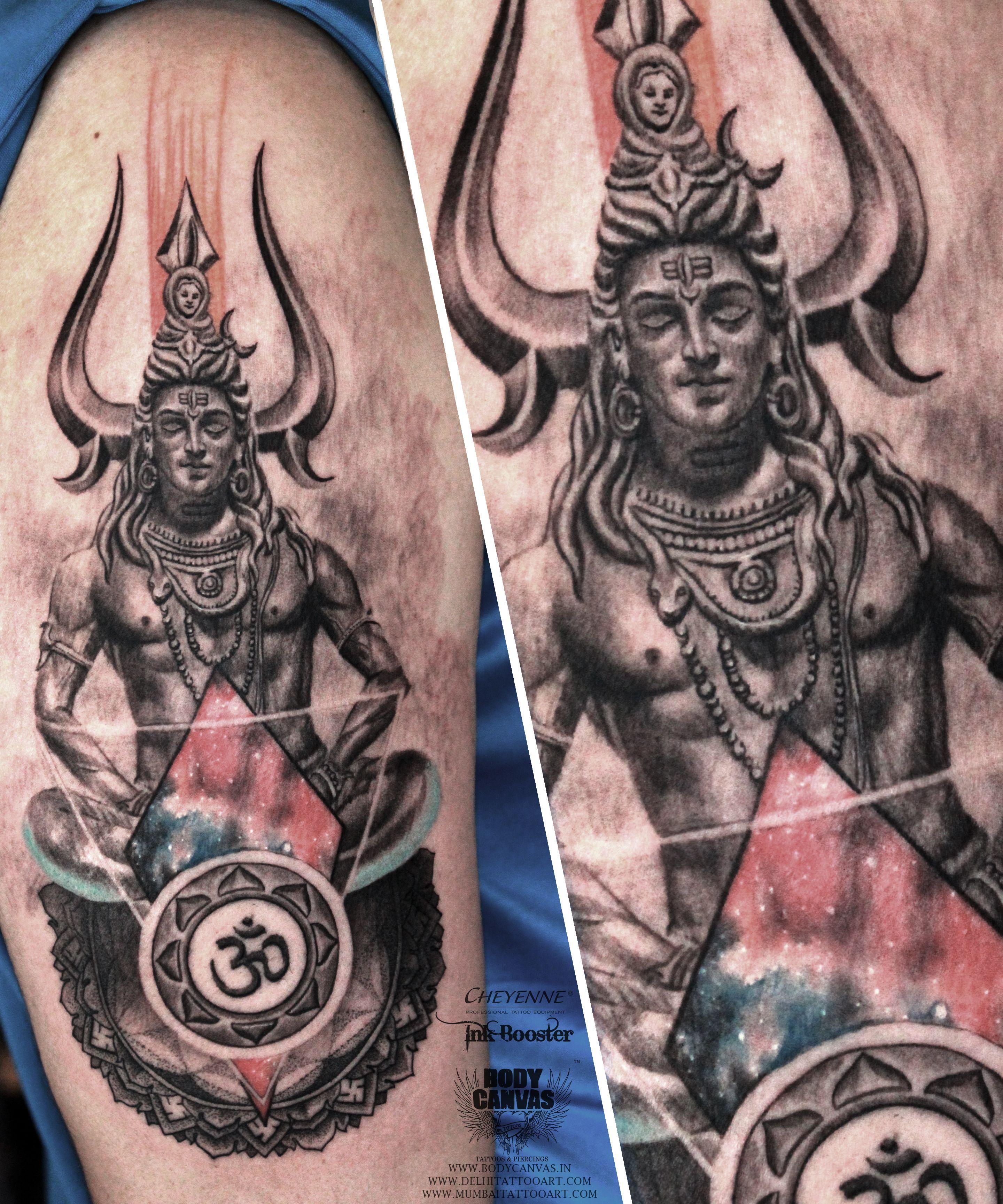 Om Tattoo Shiva Meditating In 2020 Shiva Tattoo Design Trishul Tattoo Designs Shiva Tattoo