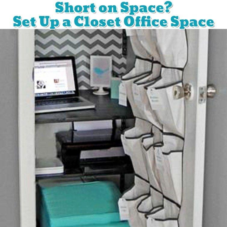DIY Ideas · Small Office Organization ...