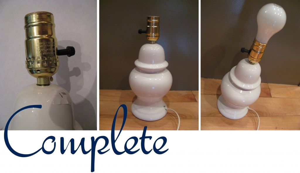 How to Rewire a Lamp | Diy shades, Lamp makeover, Lamp