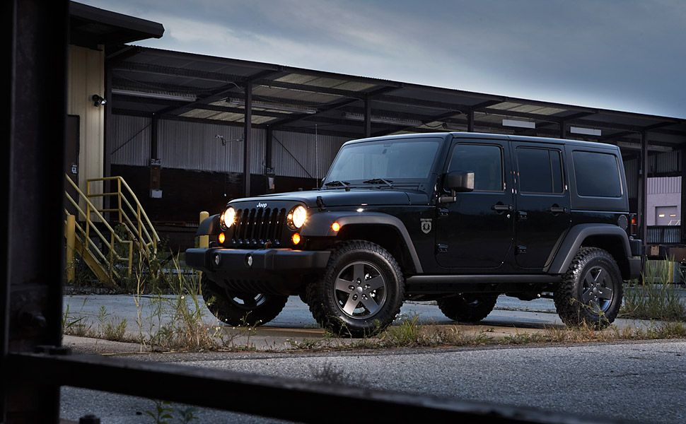 The 2011 Jeep Wrangler Call Of Duty Black Ops Edition 31 000