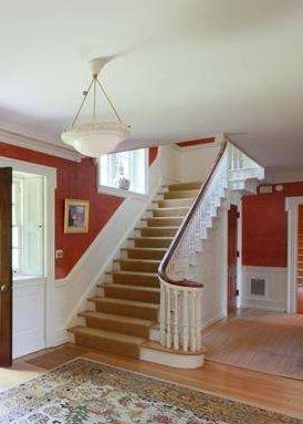 Twisted Handrails Staircase House Stairs