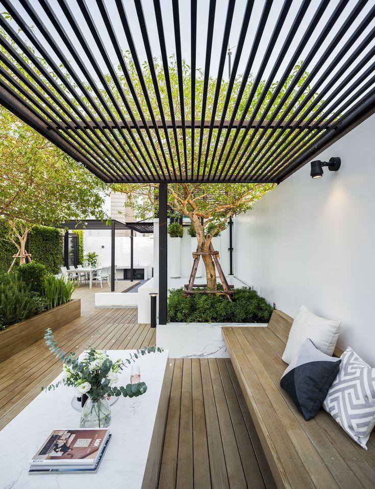 Epingle Par Eva Rosario Sur Patios Y Balcones En 2020 Salon De Jardin Exterieur Jardin Maison Terrasse Jardin