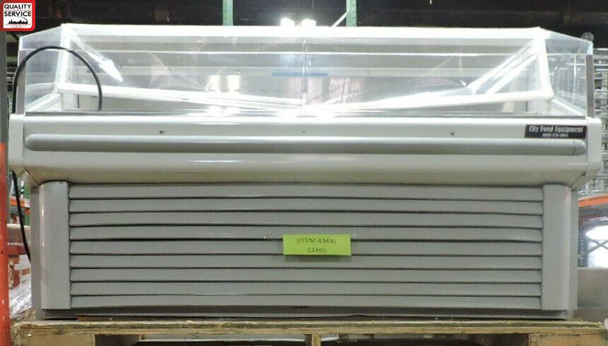 Hussmann Shm 6 Commercial Self Contained Specialty Horizontal Merchandiser Hussmann In 2020 Used Restaurant Equipment Restaurant Equipment Commercial