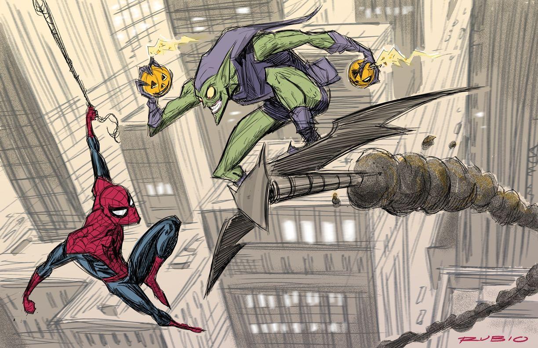 Kết quả hình ảnh cho green goblin comic