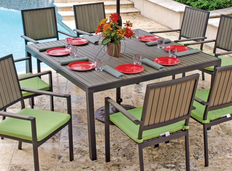 aluminum outdoor furniture patio furniture chair king backyard store