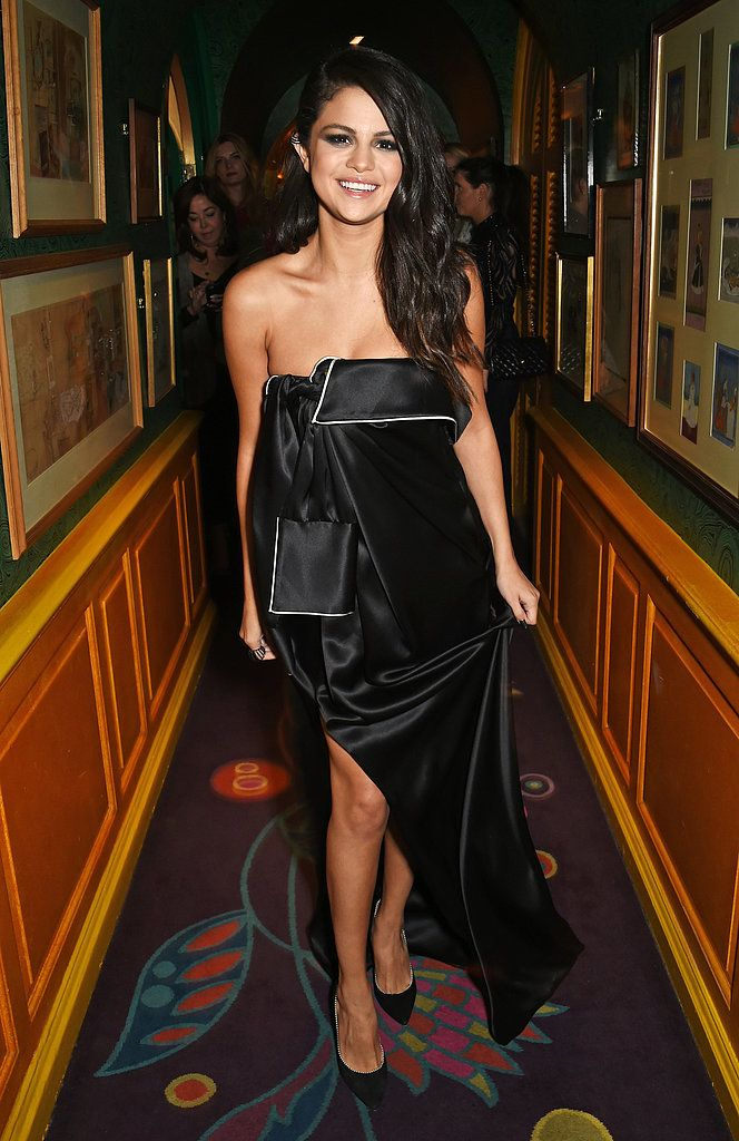 Selena Gomez has had an incredibly fashionable past few months. The singer and actress, who just killed it on stage at the Victoria's Secret Fashion Show, often wears black, white, or a combination of both on the red carpet, performing, and even out and about on her own. Who can blame her?