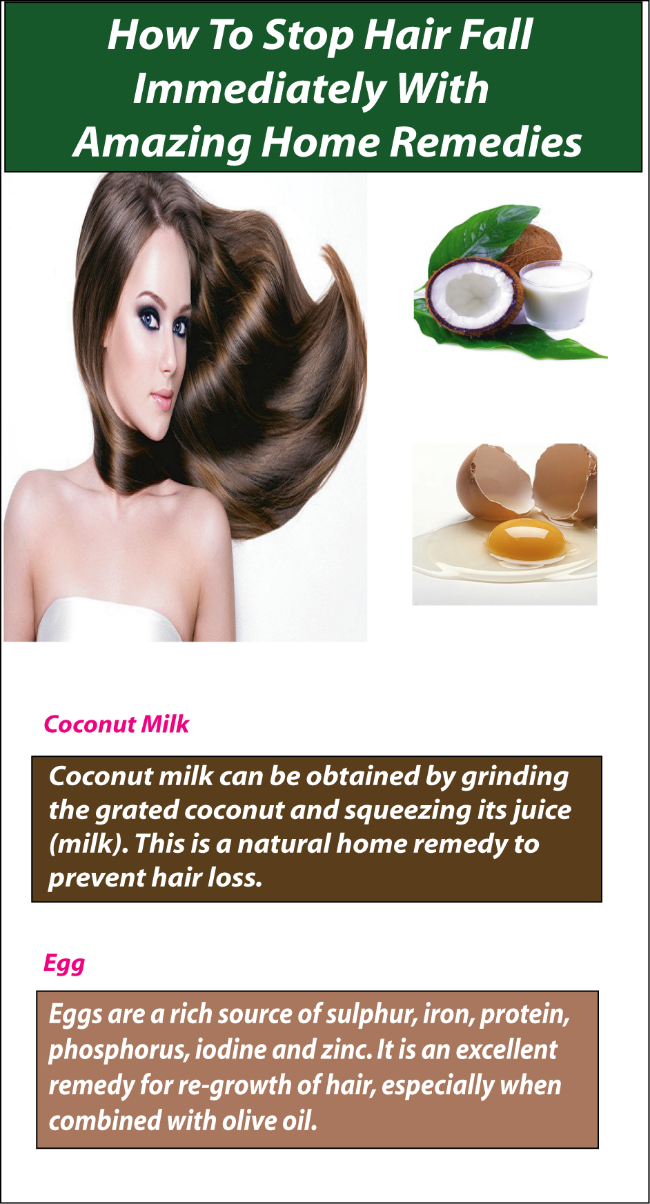 Simple Home Remedies For Hair Fall
