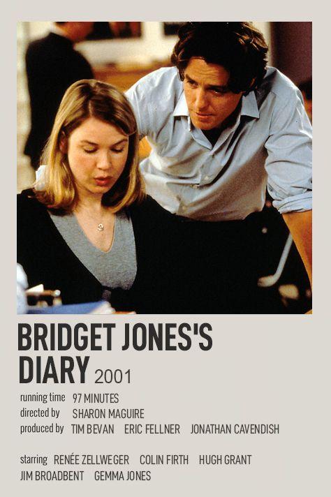 BRIDGET JONES'S DIARY POLAROID MOVIE POSTER