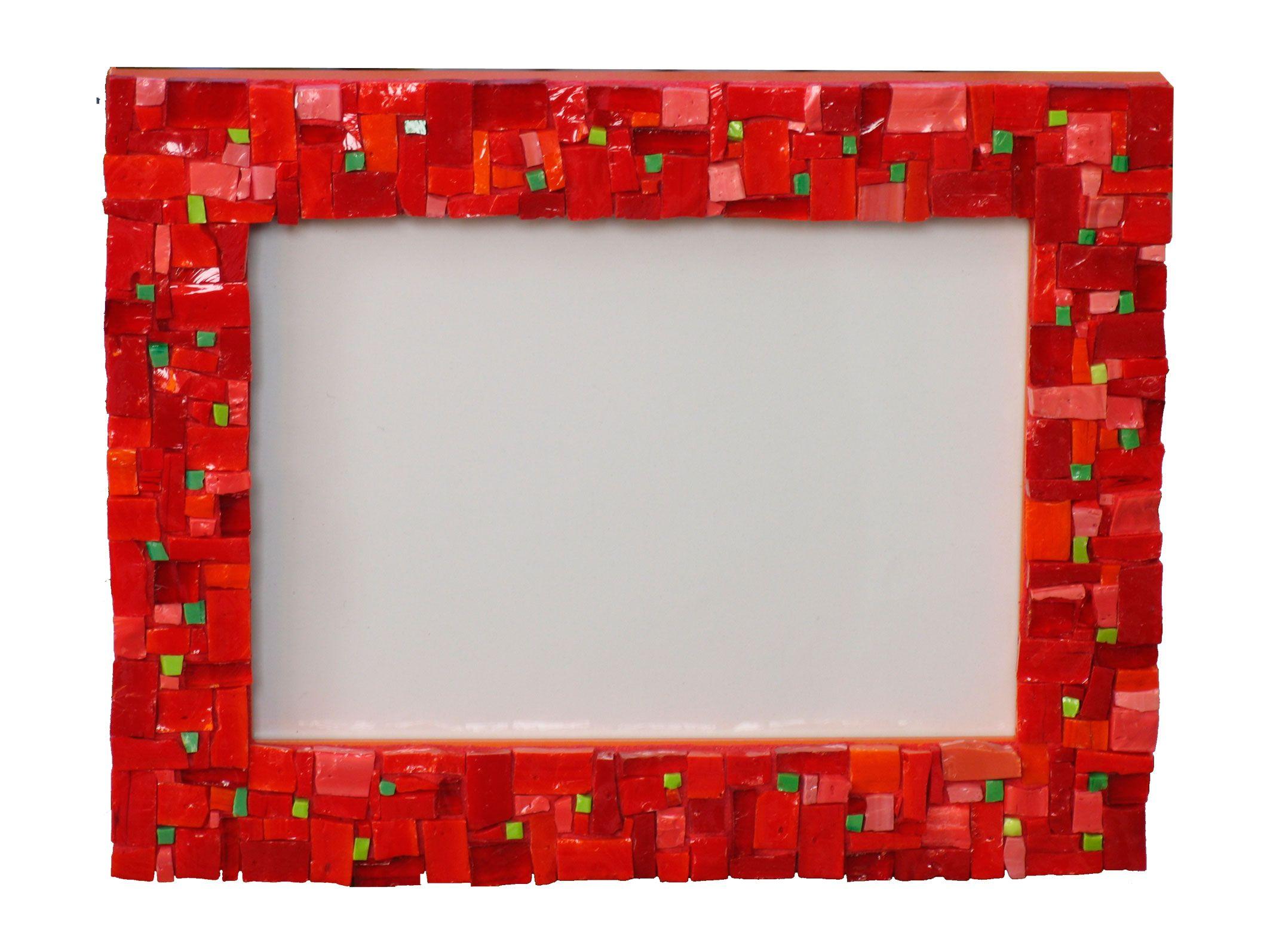 Marco en mosaico artístico color de las gitanillas de los Patios de ...