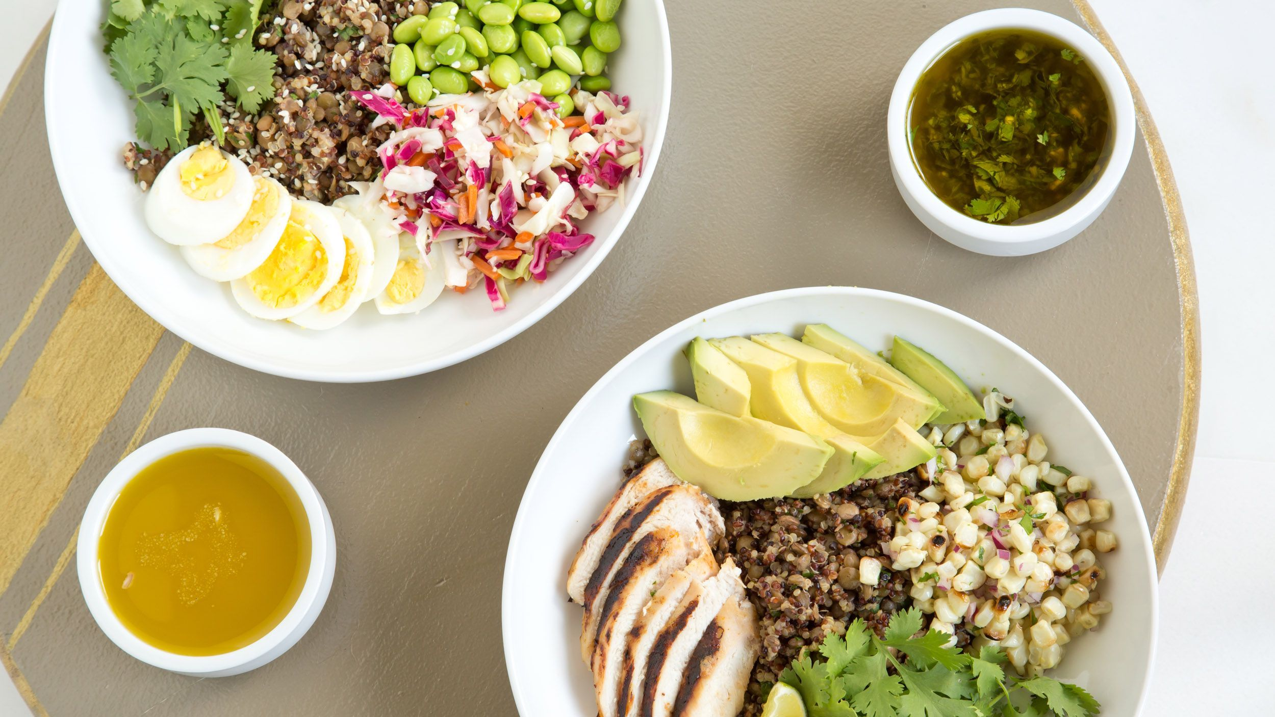 Need new healthy lunch ideas? try our diy power bowl recipes images