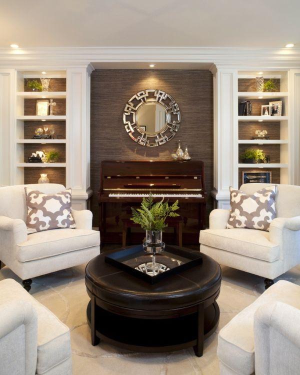 Klassische Möbel fürs Wohnzimmer - traditionelle Einrichtungsideen ...