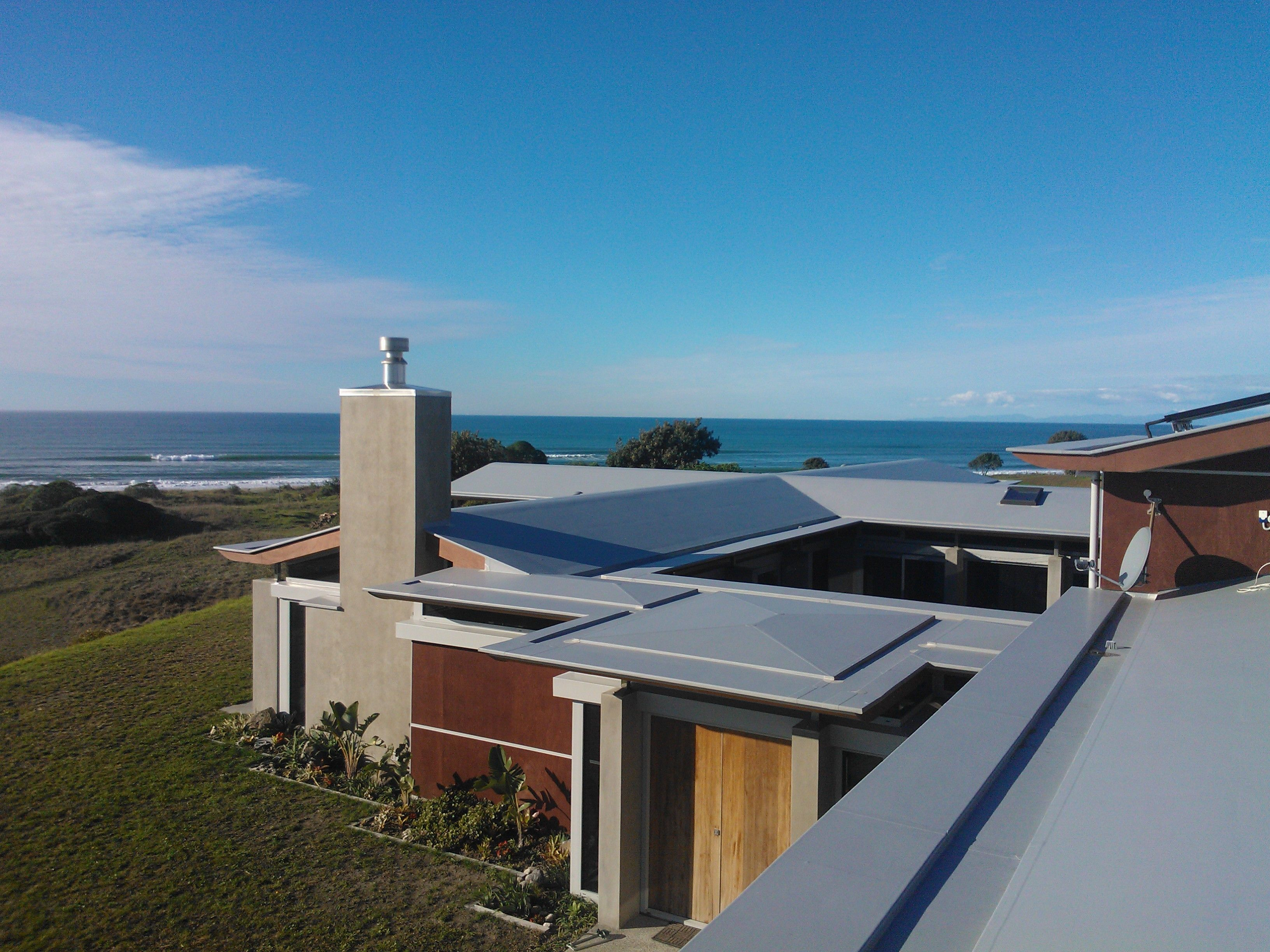 Waterproofing Low Slope Roofs Pitched Roofs Gutters Parapets Weldable Membrane Flat Roof Design Roof Design New Zealand Houses