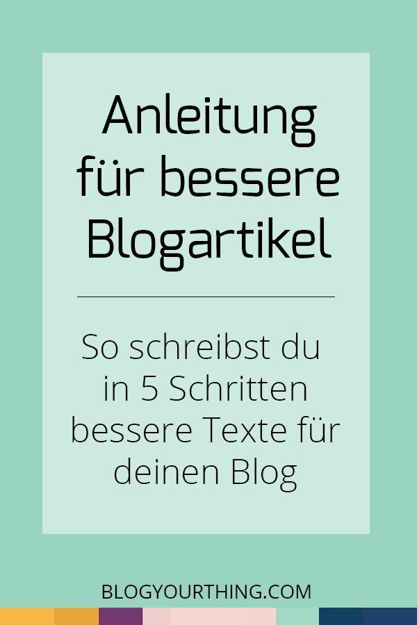 Du möchtest bessere Blogartikel schreiben, mit denen du noch mehr Leser erreichst? Wenn du diese 5 Schritte beherzigst, schaffst du es!  Blogpost schreiben, Besser bloggen, Blog-Artikel schreiben, Blog Artikel optimieren, SEO, Blogger, Blogger Tipps, Business Tipps, Content Marketing, Marketing Tipps, Blogpost, Blogging Tipps, bessere Texte, besser schreiben, Schreibtipps, Blogging Voice, mehr Leser