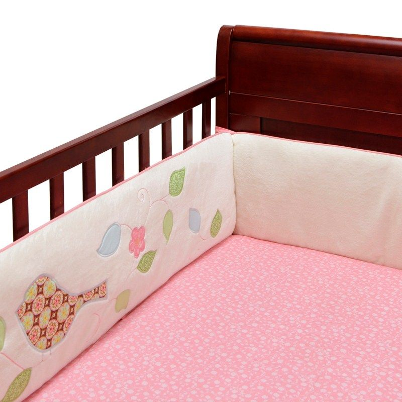 Love Bird Crib Bumper 382189046 | Baby Girl | Bumpers | Baby Bedding ...