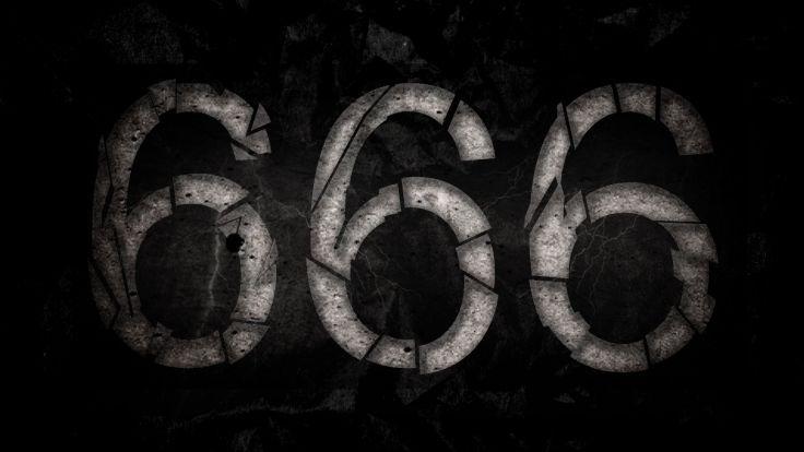 occult satan satanic 666 evil wallpaper background พื้นหลัง