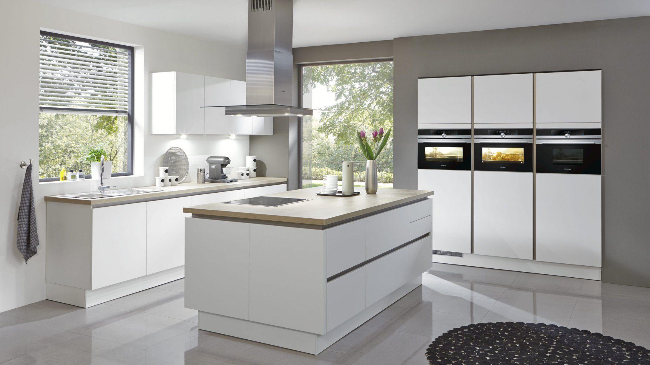Küche Weiß Hochglanz Ohne Griffe Ikea von Ikea Küche Ohne Griffe