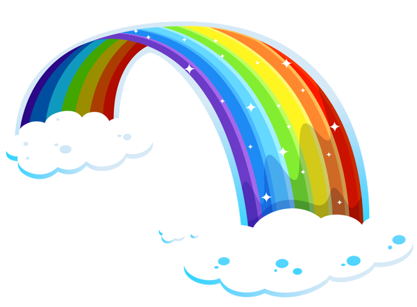 rainbow transparent google lugares para visitar rh pinterest co uk  rainbow bridge clip art free